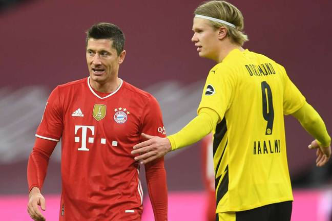 Chelsea are interested in signing Robert Lewandowski if they fail to complete a deal for Erling Haaland