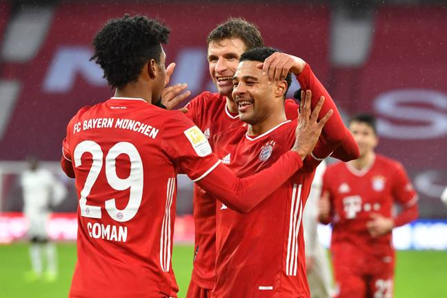 Bayern have continued their form this season. Image: PA Images