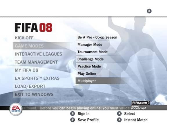 Image: FIFA 08