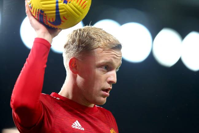 Van de Beek was overlooked against Southampton earlier this month for Scott McTominay, who was carrying an injury. (Image Credit: PA)