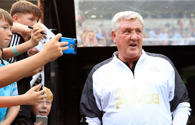 Steve Bruce's appointment has done wonders for Newcastle's relegation odds. Image: PA Images