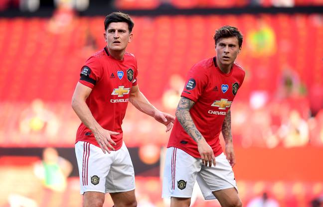 Lindelof and Maguire are improving as a pair. Image: PA Images