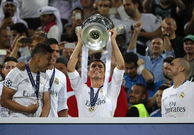 Ronaldo has won virtually everything there is to win in the game. Image: PA Images