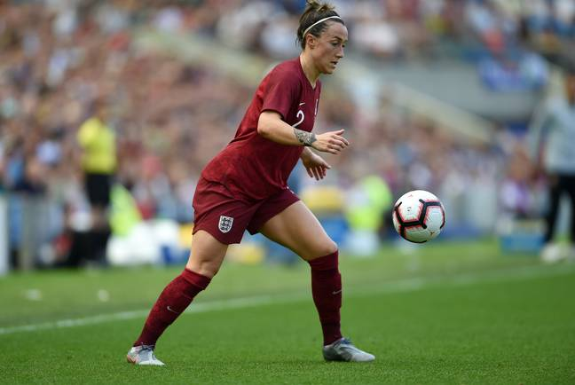 Lucy Bronze has 'Tough' as her middle name