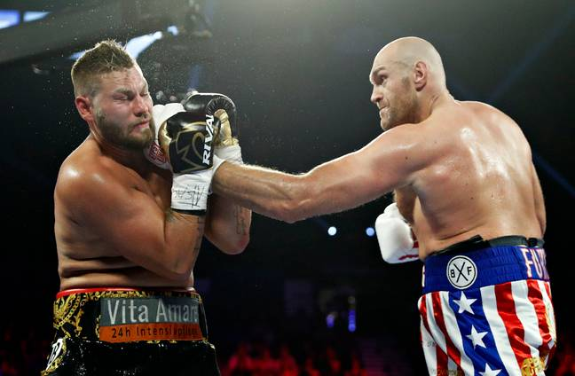 Tyson Fury was too good for Tom Schwarz