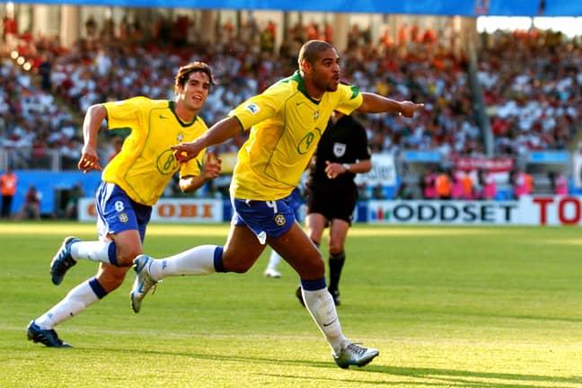 Adriano and Kaka
