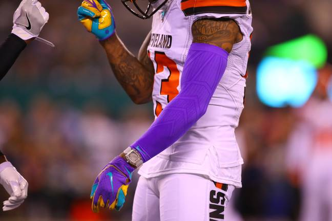 Odell Beckham Jr wore a watch reportedly worth $2million on Monday night