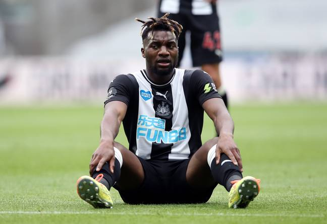 Florent Indalecio is mates with Newcastle star Allan Saint-Maximin. Credit: PA