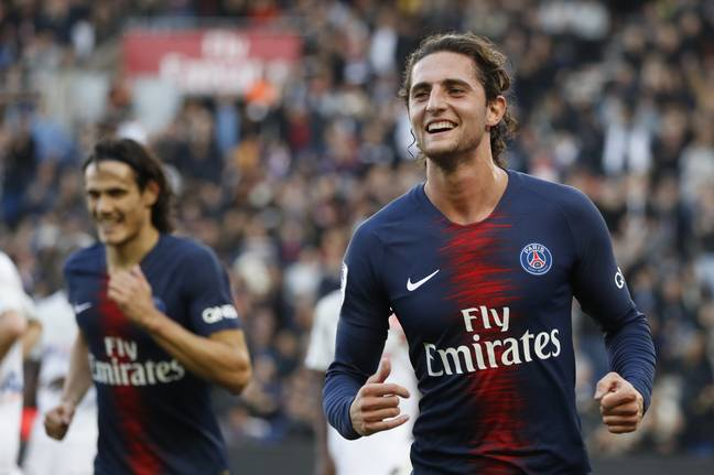 Rabiot will be relieved to be away from PSG. Image: PA Images