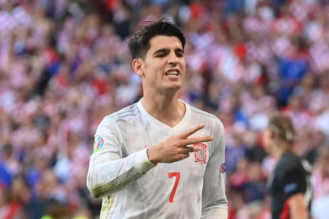 Alvaro Morata has scored 21 goals in 44 appearances for his country