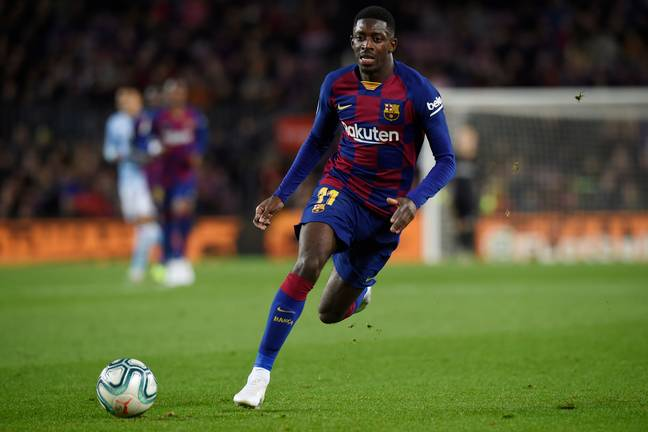 Dembele could be an alternative to Jadon Sancho. Image: PA Images