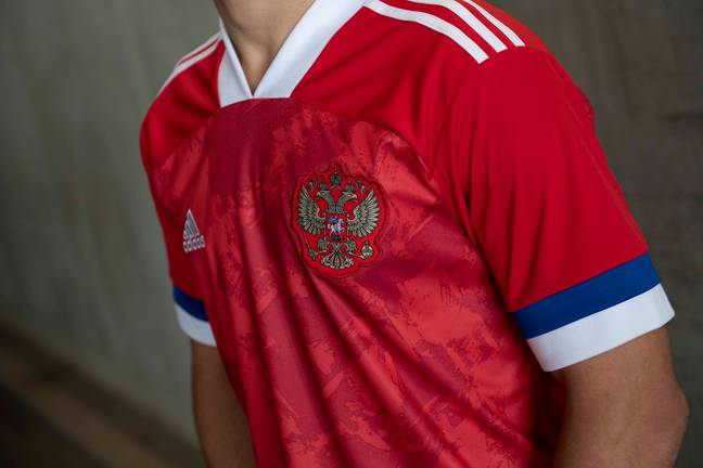 Russia have also qualified. Image: Adidas