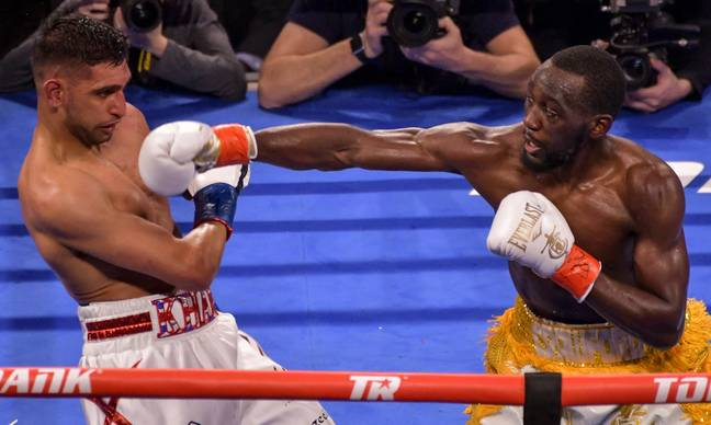 Crawford beat Khan comfortably. Image: PA Images