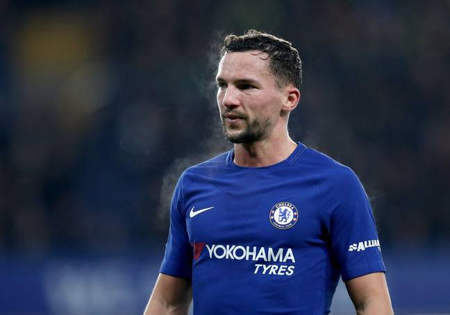 Drinkwater in action for Chelsea. Image: PA