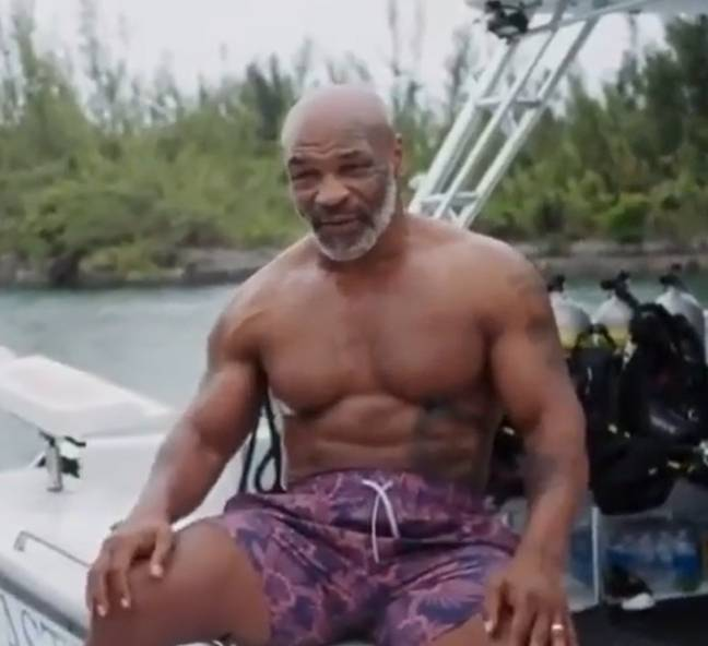 Image: Mike Tyson