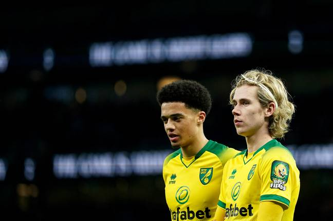 Lewis and Cantwell have been bright sparks in Norwich's season. (Image Credit: PA)