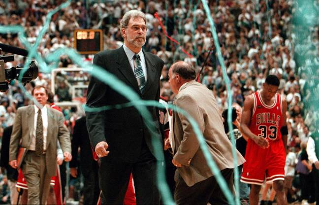 Phil Jackson and Scottie Pippen. Credit: PA