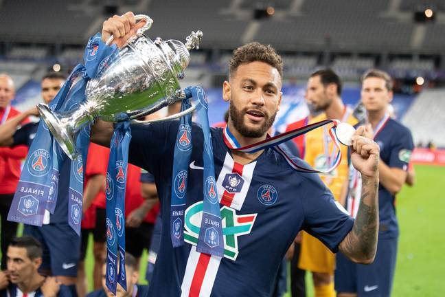 Neymar did have a good year in 2020. Image: PA Images