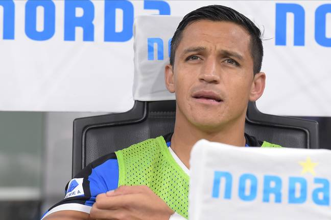 Sanchez hasn't found life in Italy much better than England. Image: PA Images