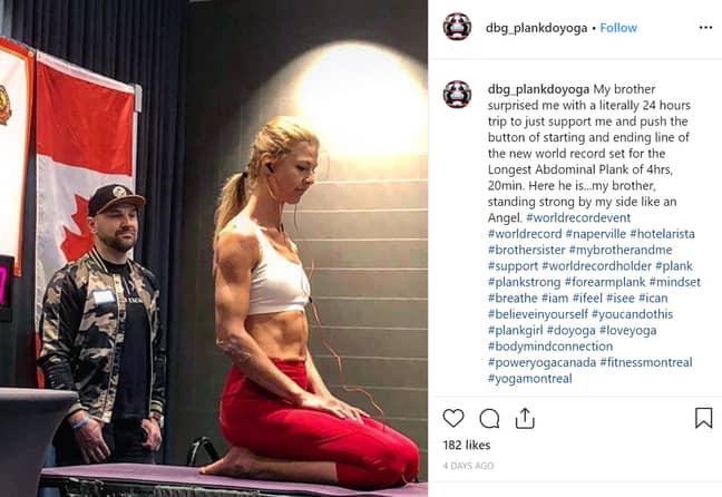 Dana thanked her brother in a post on Instagram. Credit: Instagram/Dana Glowacka