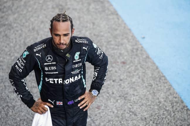 Lewis Hamilton. Credit: PA