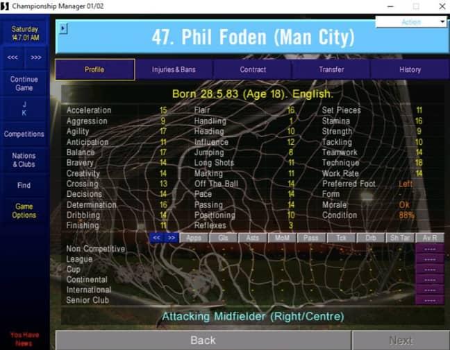 Image: Championship Manager 01/02