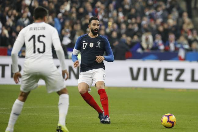 Rami playing for France. Image: PA Images
