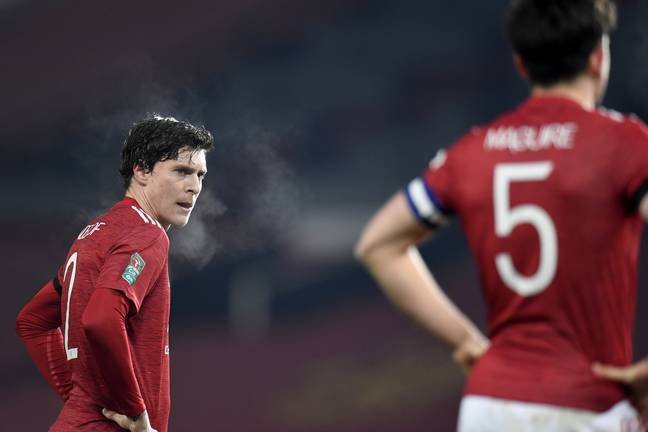 Maguire and Lindelof's partnership has often been questioned. Image: PA Images