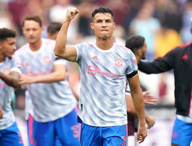 Ronaldo v West Ham