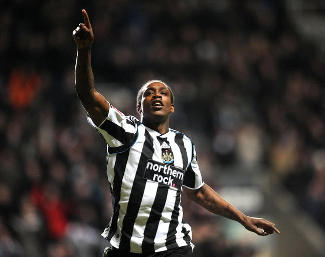 Ranger celebrating for Newcastle in the Championship. Image: PA Images