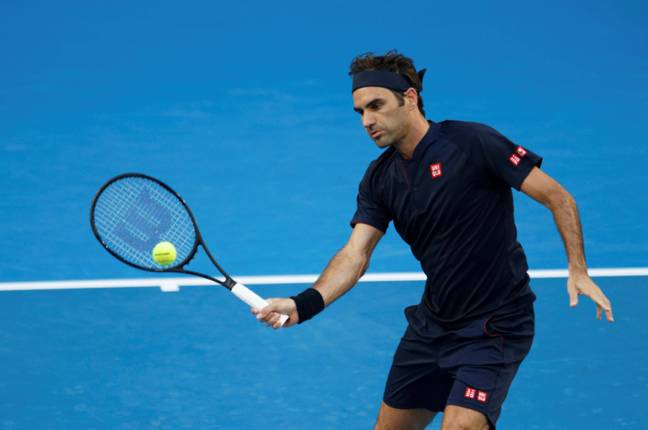 Federer already beat Great Britain's Cameron Norrie 6-1 6-1 yesterday. Credit: PA