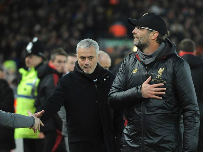 Things didn't go well for United at Anfield. Image: PA Images