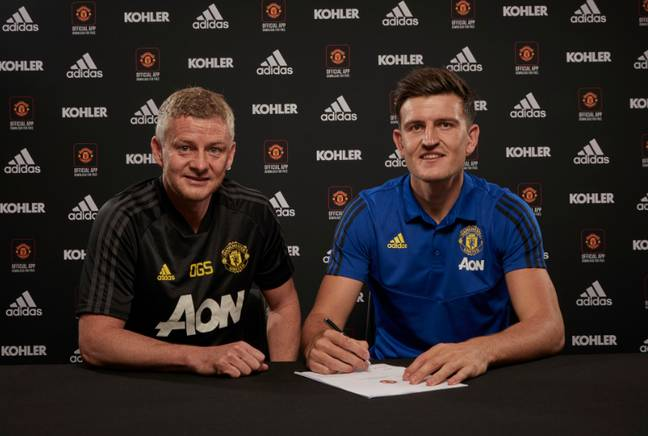 Will the addition of Maguire help United enough? Image: Manchester United