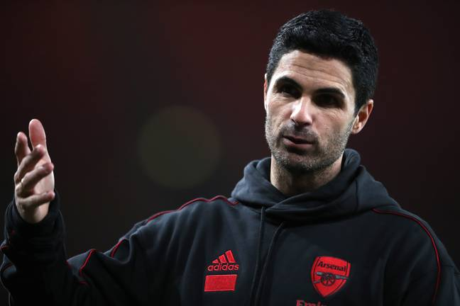 Arteta will be hoping things go better next season than they did last. Image: PA Images
