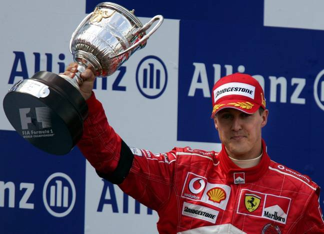 German legend Michael Schumacher has seven world championships to his name. Credit: PA
