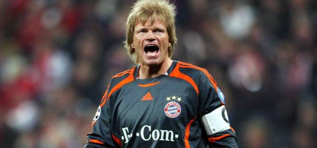 Oliver Kahn is best remembered for his 14-year spell with Bayern Munich