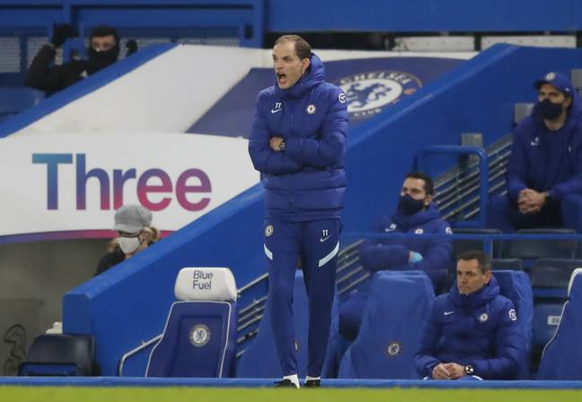 Tuchel was very animated on the sideline. Image: PA Images