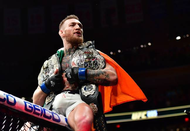 UFC megastar Conor McGregor. Credit: PA