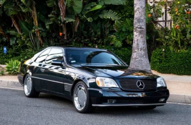 Jordan's Mercedes Benz is up for sale. Credit: Beverley Hills Car Club