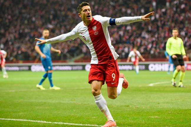 Lewandowski will be a huge miss for Poland. Image: PA Images