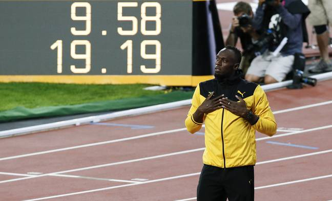Usain Bolt set the record back in 2009. Credit: PA