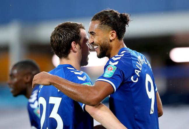 Will cinema goers see another Dominic Calvert-Lewin hat-trick? Image: PA Images