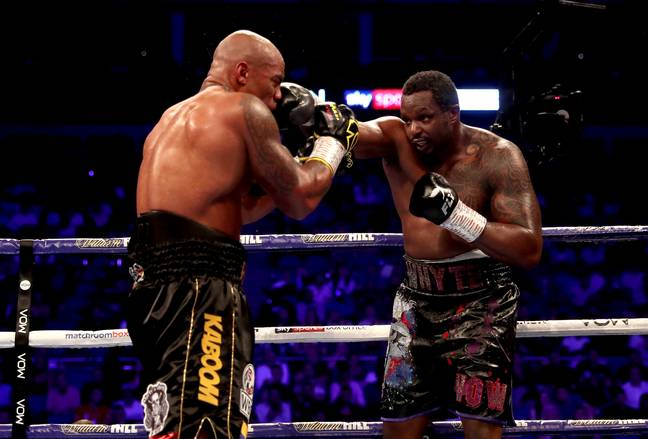 Whyte's jab was impressive on Saturday, keeping Rivas at arms length. Image: PA Images