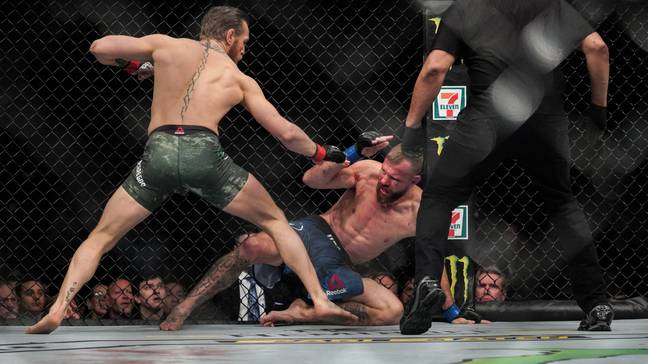 McGregor retired this year, after defeating Donald Cerrone in his most recent fight, but is expected to return. Image: PA Images