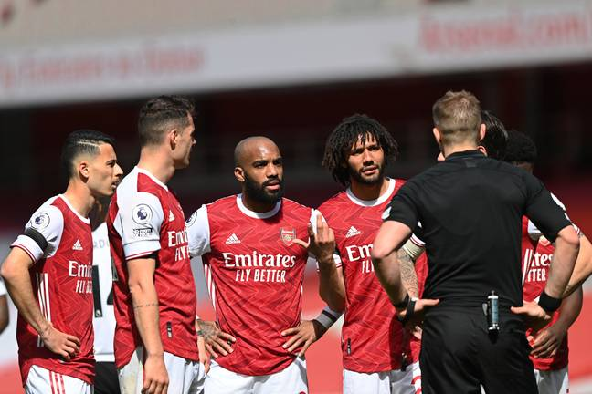 Arsenal trying to imagine their one of Europe's elite after drawing 1-1 with relegation threatened Fulham, and following 17 years without a league title...Image: PA Images