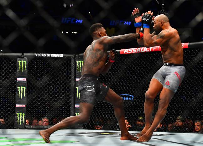 Adesanya defeated Romero in March at UFC 248. Image: PA Images