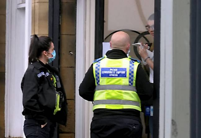 A salon owner was recently fined for flouting the lockdown rules in England. Credit: SWNS