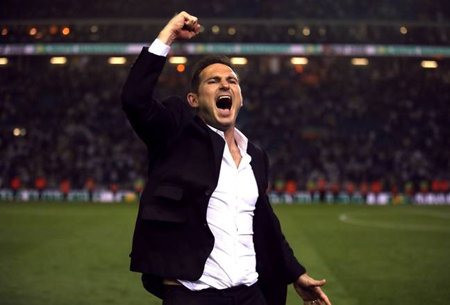Frank Lampard left Derby after one season to take over as Chelsea manager