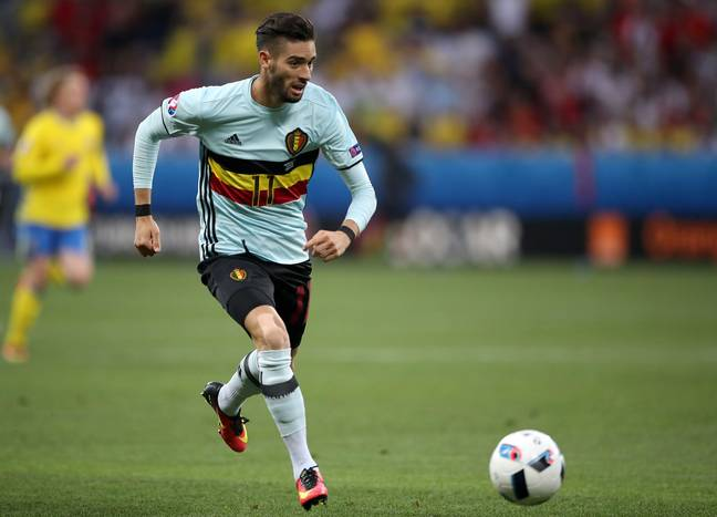Carrasco in action for Belgium. Image: PA