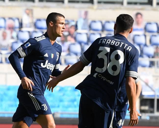 Ronaldo was back scoring for Juventus against Lazio at the weekend. Image: PA Images
